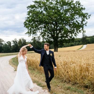Kim-Sarah und Jan heiraten an der Ostsee. © Oliver Reetz 2019